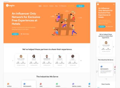 Website and Responsive Design