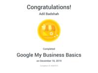 Google My Business Award