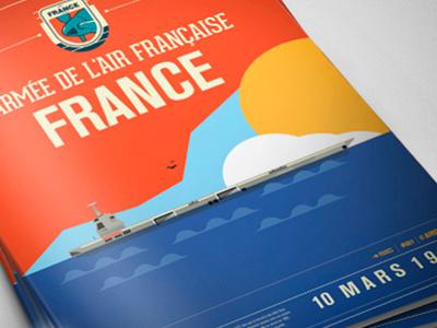 Larmee de L´air Francaise graphic design