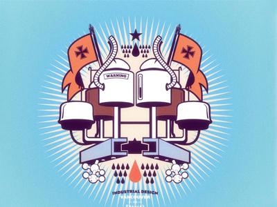 Projetc file for a industrial friend design illustrator vector