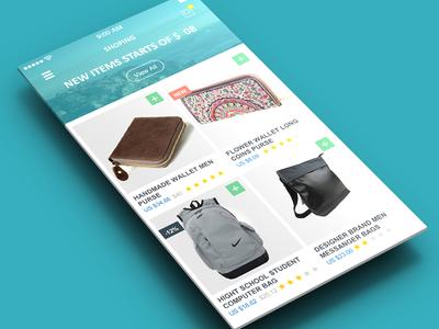 Flaty's Flat Mobile App UI Design