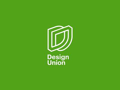 Design Union Logo u d branding monogram typography grid mark design line logo identity groupon