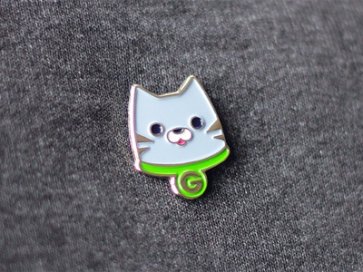 Groupon Cat Pin design mascot cat pin enamel