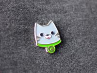 Groupon Cat Pin