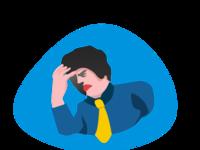 Headache Illustration