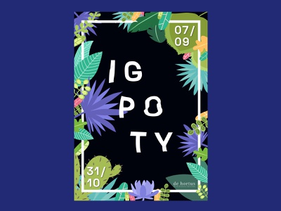 IGPOTY illustration typography print design graphic design