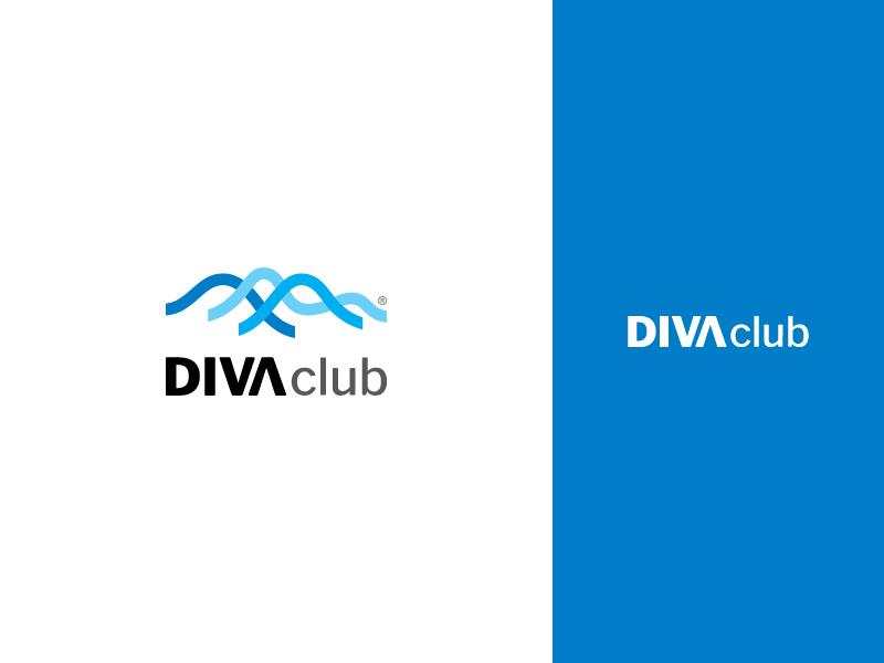Diva Club bakhshi design branding logo website alireza vector