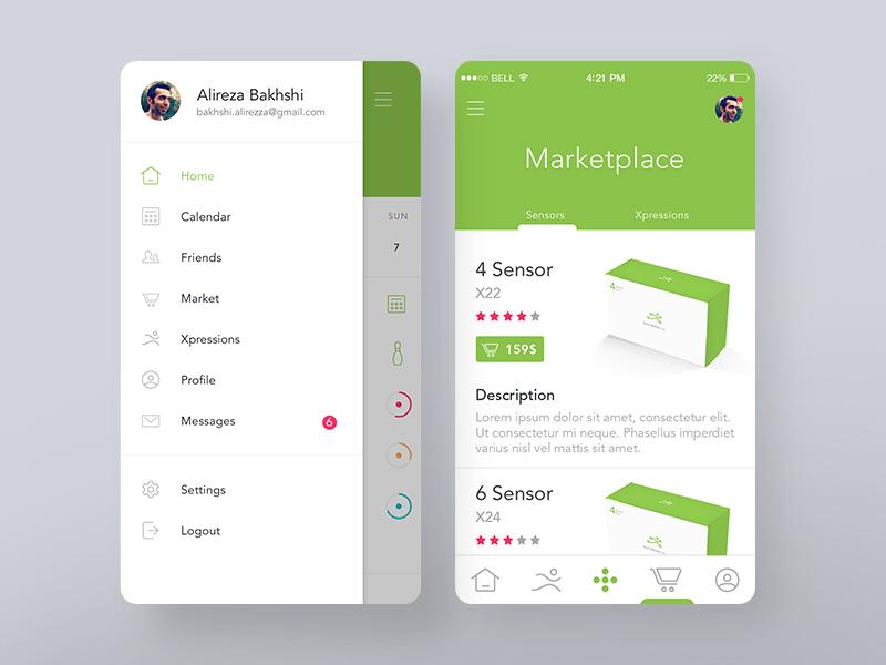 Tacit Motion Inc app typography ui design ux design ux ui design