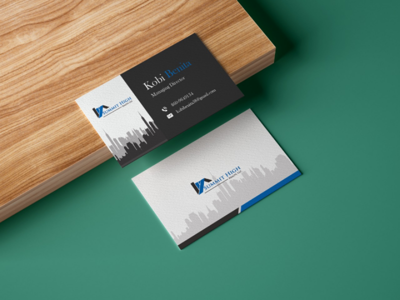 Business Card icon real estate brand identity logo business card illustration graphic design vector art