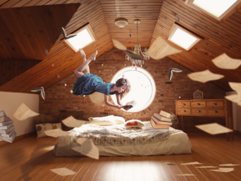 Levitation Effect manipulation design art photoshop