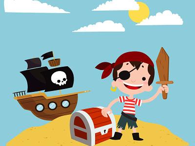 T-shirt little pirate t-shirt