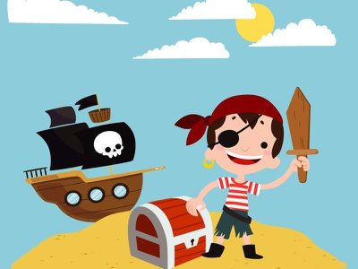 T-shirt little pirate t-shirt