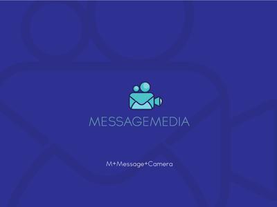 MessageMedia - LOGO CONCEPT idea letters monocolor explore aesthetic trendy classic simple flat minimal monogram logo