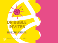 Double Dribbble Invites GIVEAWAY !