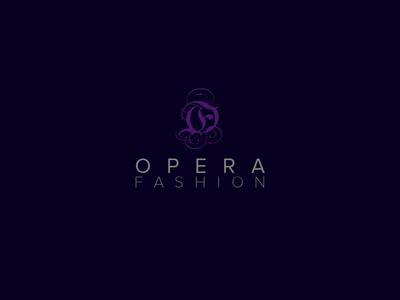 Opera Fashion- logo design⠀