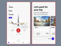 Fly Emirates App Redesign