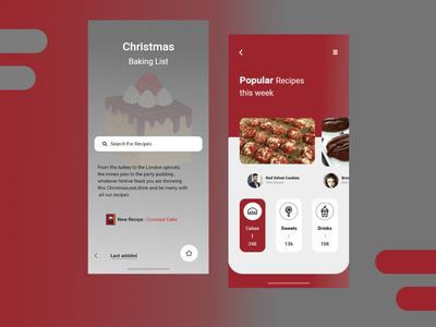 Christmas  Baking App