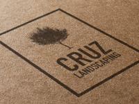 Cruz Landscaping Logo