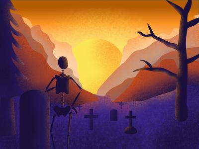 Melancholic Skeleton