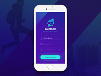 Daily UI #001 - Sign Up (app screen)