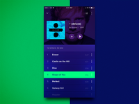 Music Player - play list