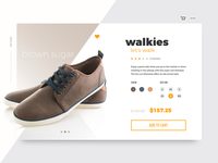 Daily UI #012 - E-Commerce Shop