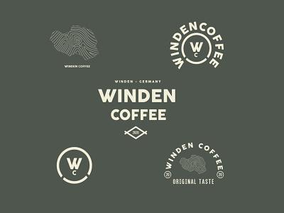 winden coffee (forsale) font design poster graphicdesign designer brand identity brand design branding logos coffe logo logodesign logotype coffee bean coffeeshoplogo coffee coffeeshop