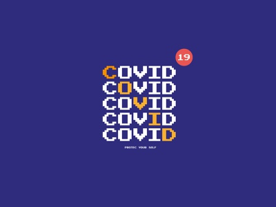 protec your self coronavirus covid19 illustration design logo brand identity poster logotype graphicdesign font designer branding