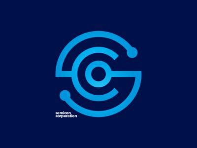 Semicon identity motherboard monogram semiconductor logo