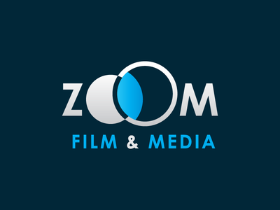 Zoom Film & Media media photography production video film zoom logo