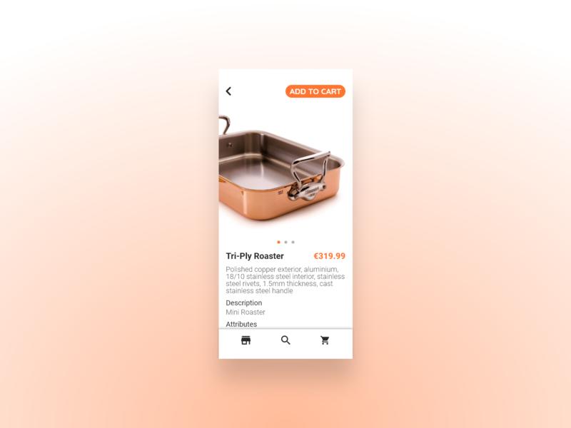 DailyUI #10 - E-Commerce Shop (Single Item)