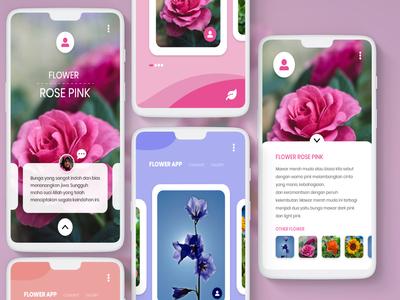 Mobile App - Flower