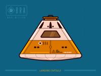Mission Mars #4 - Landing Capsule