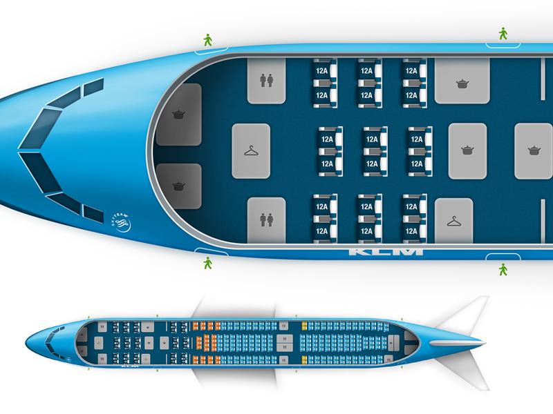 Airbus A330 Seating Klm Www Pixshark Com Images