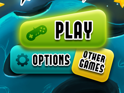 Play play options menu game interface gui games aawam alien magnet