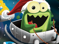 An Alien with a Christmas Hat - Finished