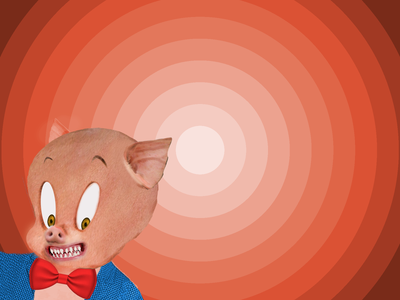Porky Pig in real life