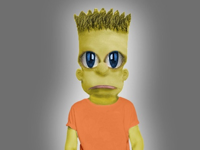 Bart Simpson in real life