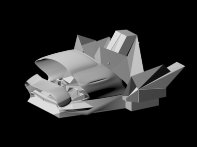 Spaceship in progress concept art photoshop 3d models high poly lowpoly game art rendering autodesk animation 3d model illustration