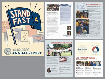 Publication design: Civic Nebraska annual report graphic design print design publication design design
