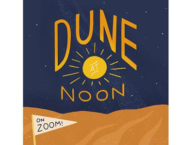 Dune illustration typogaphy product design books procreate art procreate drawing illustration art