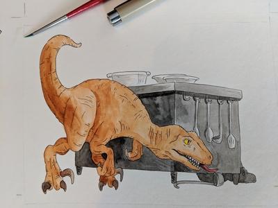 Kitchen raptor