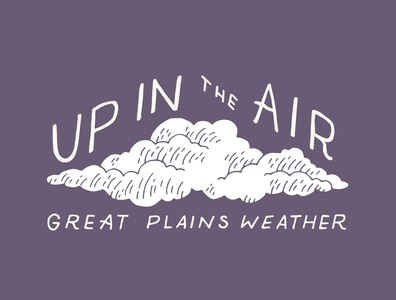 Exhibition typography: Great Plains Weather