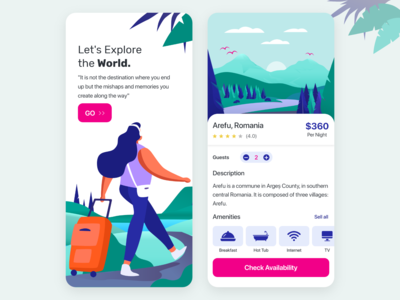Travel & Booking App