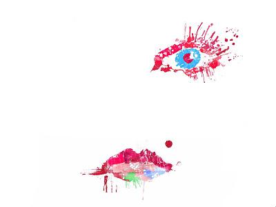 Blur face photoshop color blur girl face eye lips