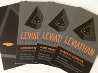 Leviathan Interactive Business Cards