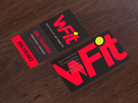 WFit Logo and Business Cards