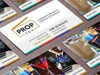 PropTrx Branding and Cards