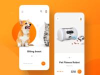 Pets shop App Design