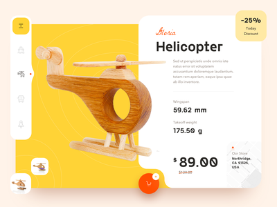 Product Page | Ecommerce web design interface basket page product sketch design ux ui web shop